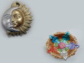 Sun & Moon Idol With Star Shapped Diya